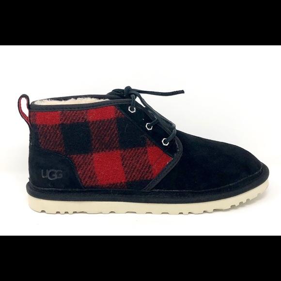c2e393d06c1 UGG Australia Neumel Redwood Plaid Chukka Boots NWT